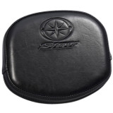 Yamaha Star Accessories Passenger Backrest Pad With Logo - Cruiser Sissy Bars