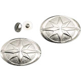 Yamaha Star Accessories Star Conchos -  Cruiser Saddle Bags