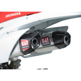 Yoshimura RS-9D Complete Exhaust With Stainless Header - Dual - Yoshimura Dirt Bike 4-Stroke Complete Systems