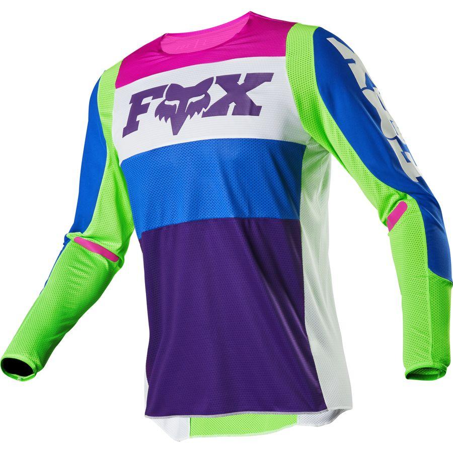 Fox Racing Attack Zip s//s Jersey Yellow