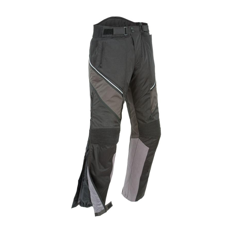 Joe Rocket Ballistic 7.0 Mens Textile Pants Black, Medium//Short