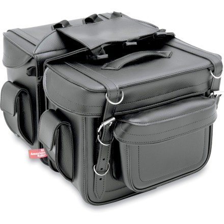 All American Rider Box-Style Saddlebags - Detachable