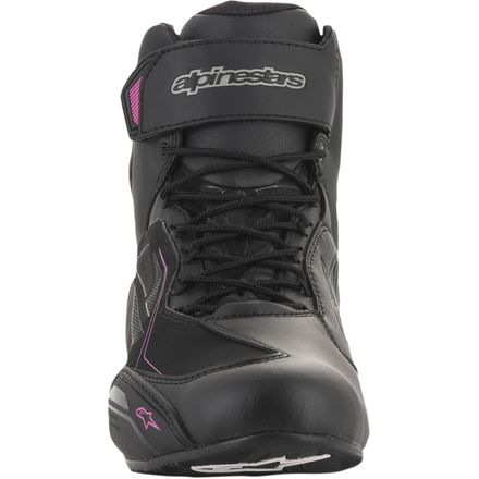 Black//Silver Alpinestars Women/'s Stella FASTER-3 Street Riding Shoes 6.5