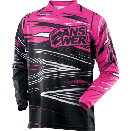 Answer 2013 Girl's Syncron Jersey [obs]