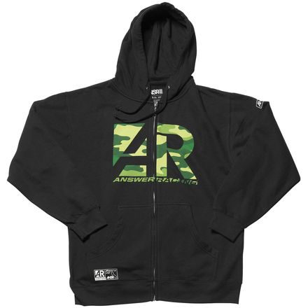 Answer AR Icon Zip Hoody