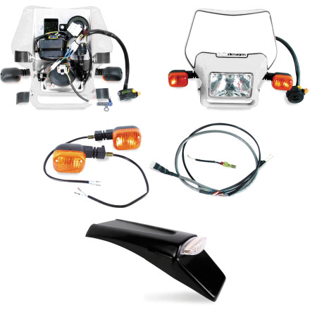 Fine Baja Designs Ez Mount Dual Sport Kit Motosport Wiring Digital Resources Millslowmaporg