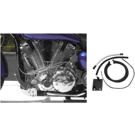 Baron Custom Accessories Fuel Pump Relocation Kit
