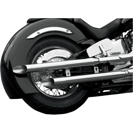 Baron Custom Accessories Slasher Slip-On Exhaust