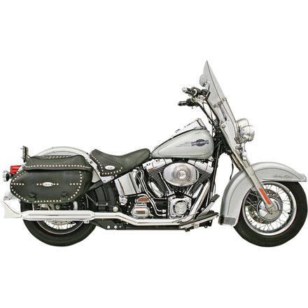 Bassani Xhaust Power Curve True-Dual Crossover Slip-On Exhaust