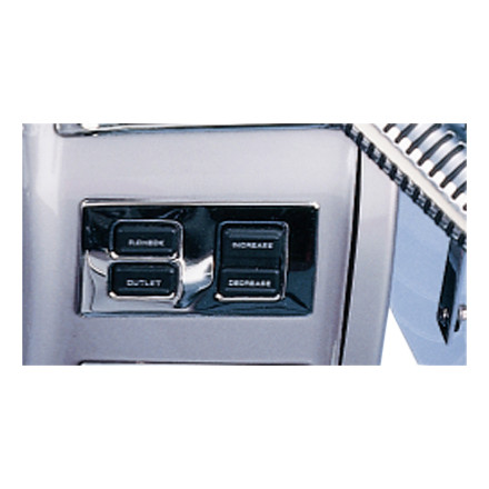 Show Chrome Air Pressure Control Panel Accent