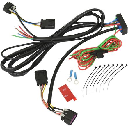 show chrome accessories trailer wire harness motosport