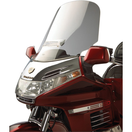 Show Chrome Custom Tour Windshield With Vent