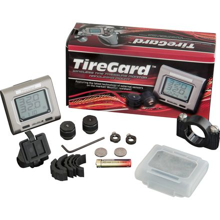 Show Chrome Accessories TireGard Handlebar Mounted Tire Pressure Monitoring System
