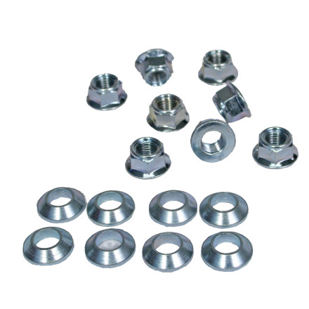 Bolt Motorcycle Hardware Hardware Lug-Lock Lug Nuts