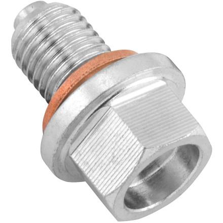BikeMaster Steel Magnetic Oil Drain Plug