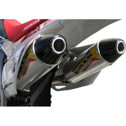 Bill's Pipes SA-4 Series Slip-On Exhaust - Dual