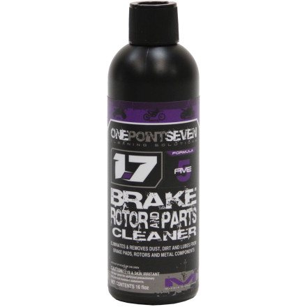1.7 Cleaning Solutions Brake Rotor Parts Cleaner