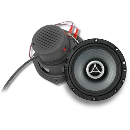Cycle Sounds Series 6 Coaxial Speakers With Power Puck Speaker Amplifiers