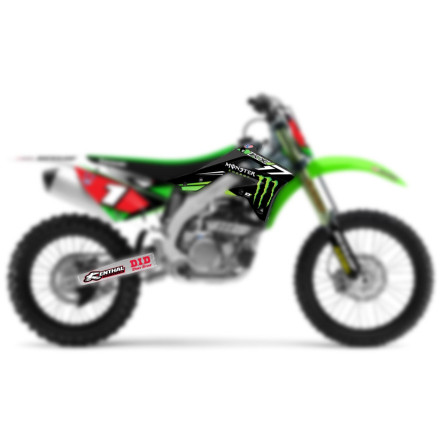 D'COR Visuals 2014 Monster Energy Graphics - Kawasaki