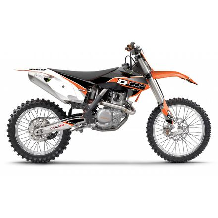 D'COR Visuals Race Line Complete Graphics Kit - KTM