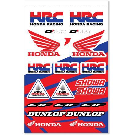 D'COR Visuals Honda HRC Decal Sheet