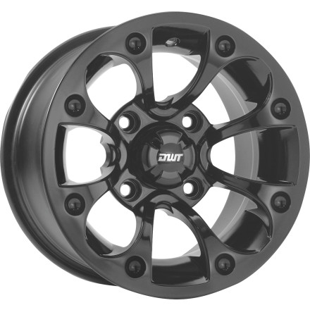 DWT Rhythm Front Wheel - 12X7 Black [obs]