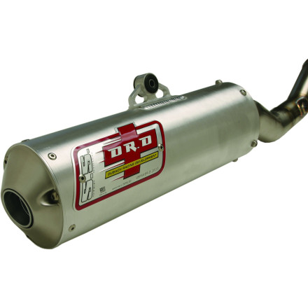 Dr. D D-Shape Complete Exhaust With Spark Arrestor