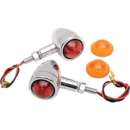 Drag Specialties Custom Bullet Marker Lights
