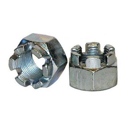 Dura Blue Axle End Nut Steel