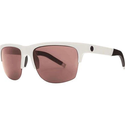 Matte White/Polarized+ Rose