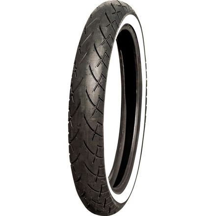 Full Bore M-66 Tour King Front Tire - Whitewall