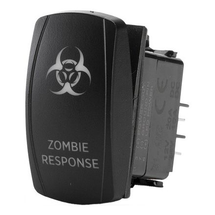 FLIP Zombie Response Lighting Switch