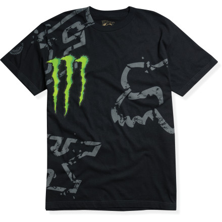 Fox Racing Monster Rc Downfall T-Shirt [obs]