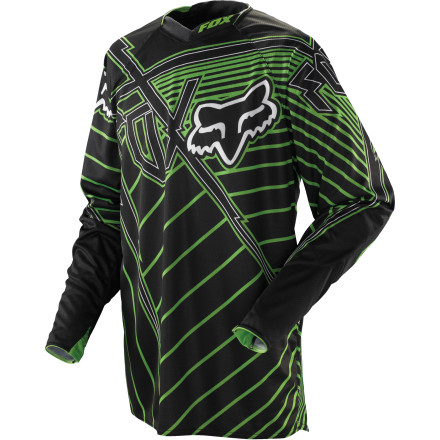 Fox Racing 2011 Platinum Jersey - Vamplifier [obs]