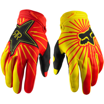 Fox Racing 2012 Dirtpaw Gloves - Rockstar [obs]