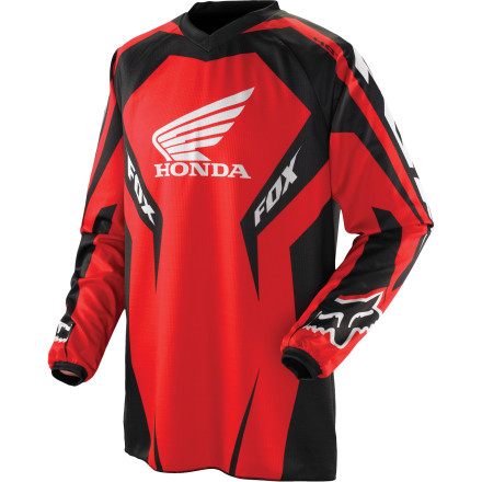 Fox Racing 2012 Youth HC Jersey - Honda [obs]