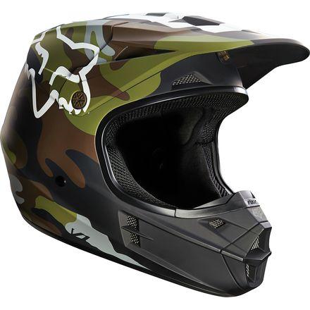 Fox Racing 2016 V1 Helmet - Camo