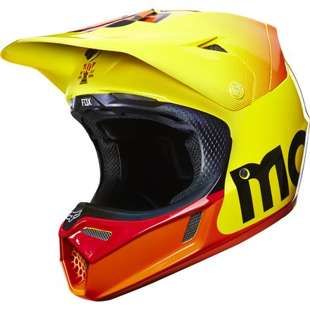 Fox Racing 2015 V3 Helmet - 40 YR LE