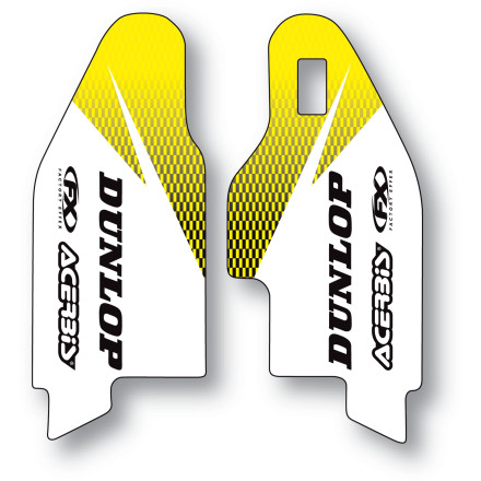 Factory Effex 2013 Fork Guard Graphics - Suzuki