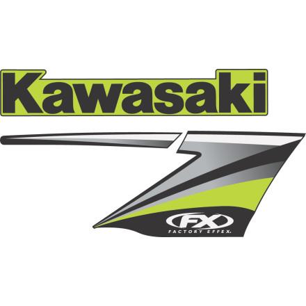Factory Effex OEM Graphics 09 Kawasaki