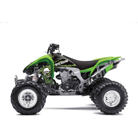 Factory Effex Metal Mulisha ATV Graphics Kit - Kawasaki