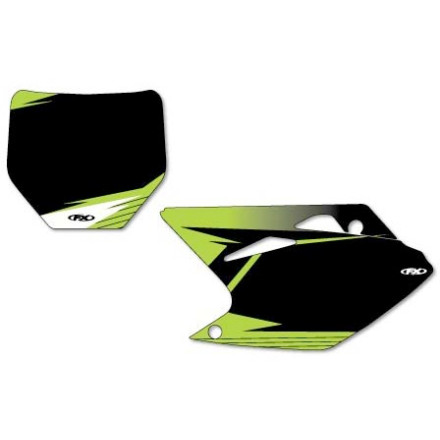 Factory Effex Pre-Cut Number Plate Backgrounds Kawasaki