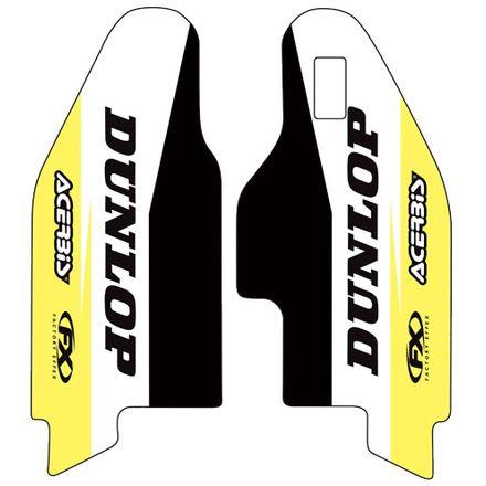 Factory Effex Sponsor Lower Fork Graphics - Suzuki