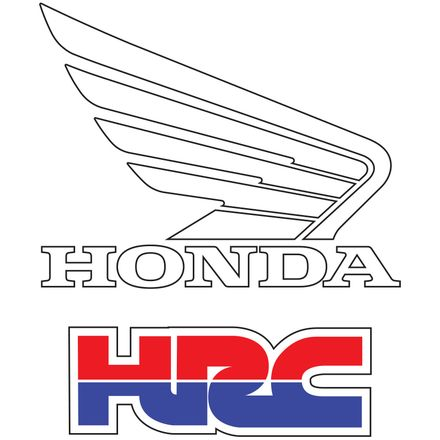 Factory Effex OEM Graphics - Honda HRC Wing