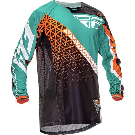 Fly Racing 2016 Youth Kinetic Jersey - Trifecta