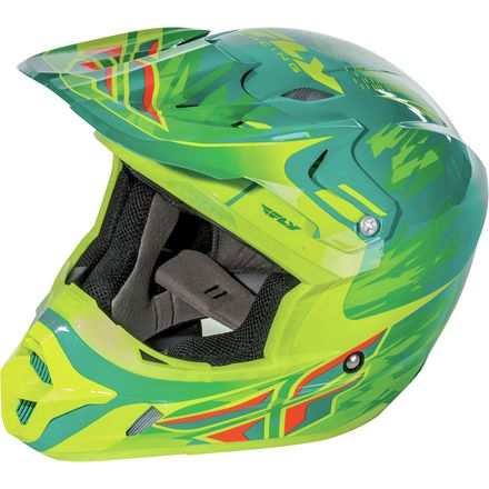 Fly Racing 2017 Youth Kinetic Pro Helmet - Shorty Replica