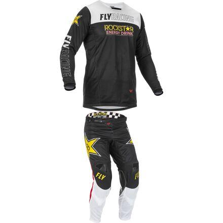 Fly Racing 2021 Kinetic Mesh Pant/Jersey Combo - Rockstar