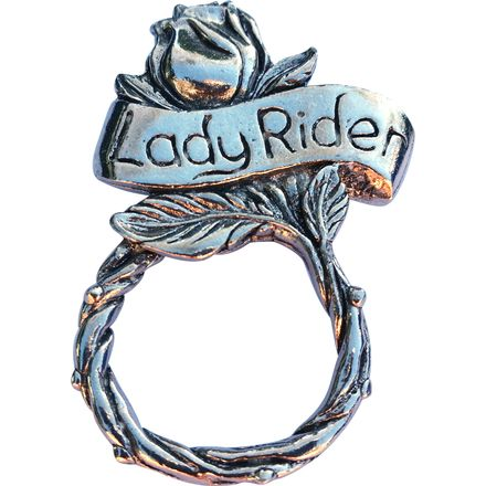 Guardian Bell Sunglasses Holder Pin - Lady Rider