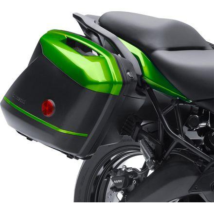Genuine Kawasaki Accessories KQR Hard Saddlebags