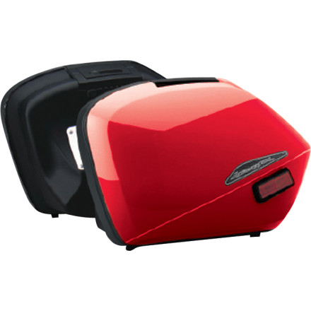 Honda Genuine Accessories Interceptor Hard Saddlebags